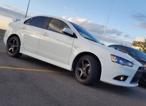 2011 Mitsubishi Ralliart w/low kms. Private sale. No tax or fees