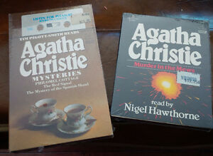 Agatha Christie, Novels on Cassette to List To