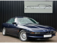 1994 BMW 8 Series 840 Ci 4.0 V8 Coupe Auto *Orient Blue + SilverGrey Leather*