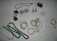 Lot of Fashion Jewelry Aldo bangle earrings necklaces new old