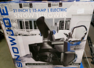Snow Joe 21-in 15-Amp Single-Stage Corded Electric Snow Blower