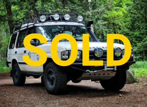 *SOLD* 1997 Land Rover Discovery 300TDI *SOLD* AS IS