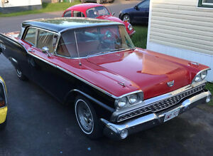 1959 Ford Custom 300 2 dr sedan 302 V8 C4 Automatic New Paint Ne