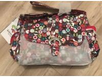 Kalencom Laminated Buckle Bag Baby Changing Nappy Bag - Brand New with Tags