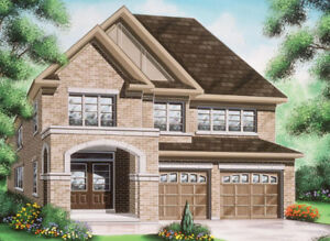 New Detached House for Lease in Oshawa