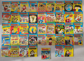 42 x Vintage 1980s Beano comic library small books