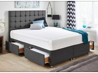 Wanted king size divan bed with drawers