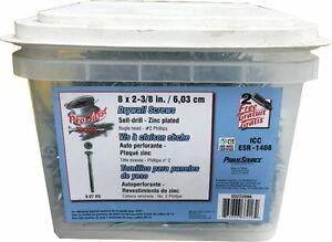 """Pro-Twist 2-3/8"""" Self-Drill Screws for $34.99 (6030 50 Street)"""