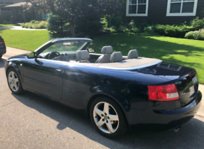 2004 AUDI A4 CONVERTIBLE FWD