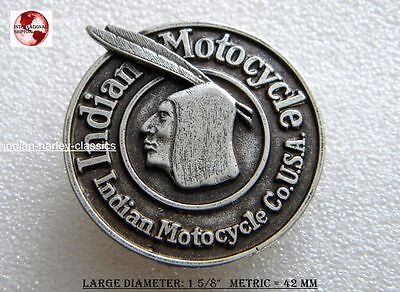 EARLY INDIAN MOTORCYCLE VEST PIN FITS FOR CHIEF & SCOUT RIDERS ROADMASTER FOUR for sale  USA