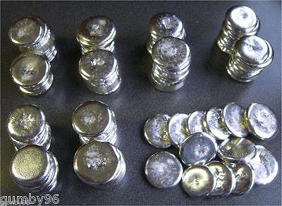 1 Pound Tin Metal Round Ingots 99.97 Pure Bullion Ingot - 453.6 Grams Lb