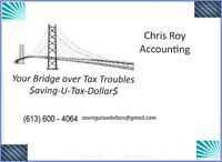 Income Tax Returns • Tax Man on Your Case • In Arrears •