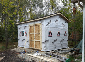 10% OFF NEW SHEDS AND GARAGES
