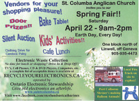 Spring Fair - Earth Day Every Day