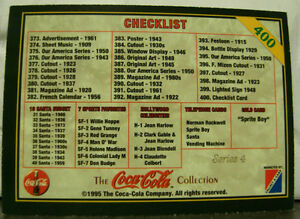 Coca Cola Cards - 1995 Kitchener / Waterloo Kitchener Area image 2