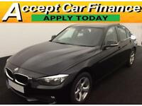 BMW 320 2.0TD d Efficient Dynamics 2013MY d EfficientDynamics FROM £51 PER WEEK