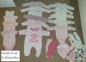 Baby girl bundle (no.6) 0-3 months