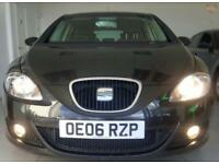 2006 SEAT LEON SPORT TDI Black Manual Diesel
