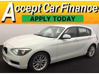 BMW 118 2.0TD auto 2012MY d SE FROM £57 PER WEEK!