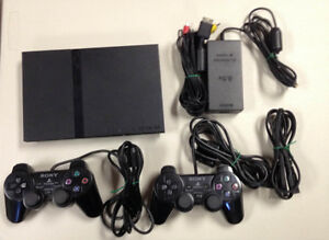 Playstation PS2 Slim with 62 games St. John's Newfoundland image 1