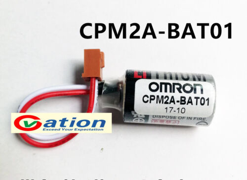 NEW  CPM2A-BAT01 3.6V 1000mAh PLC Battery For Omron CPM2A/CQM1H ER3V