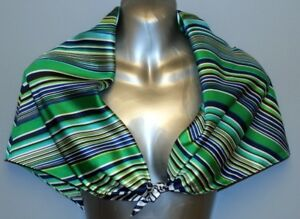 ECHO 100% Silk Scarf - 31 x 31 inches, Made in China (New with t