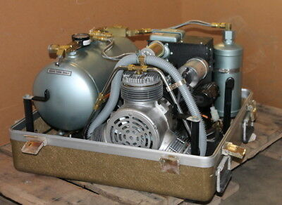 Air Compressor With Dehydrator 5.6 Cfm 80 Psi M5b Air Techniques Unused