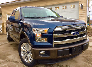 2016 Ford F150 Lariat Supercab Ecoboost - No GST - Only 800KMs!