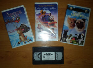 VHS - Kids Tapes (Take all for $5)