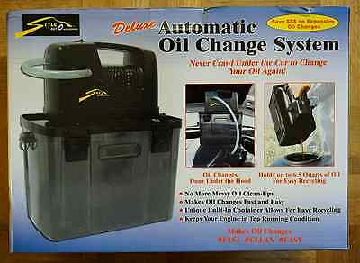 StyleAuto Automatic Oil Change System NIB No More Messes!