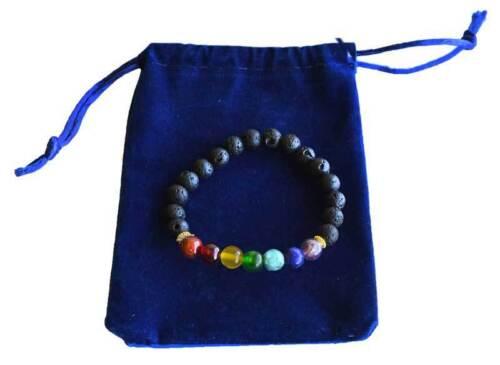 7 Chakra Healing  Elastic Bracelet Wicca