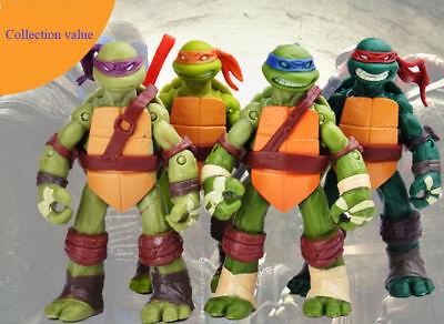 4/PS TMNT Teenage Mutant Ninja Turtles Action Figures Anime Movie  Toys Gift