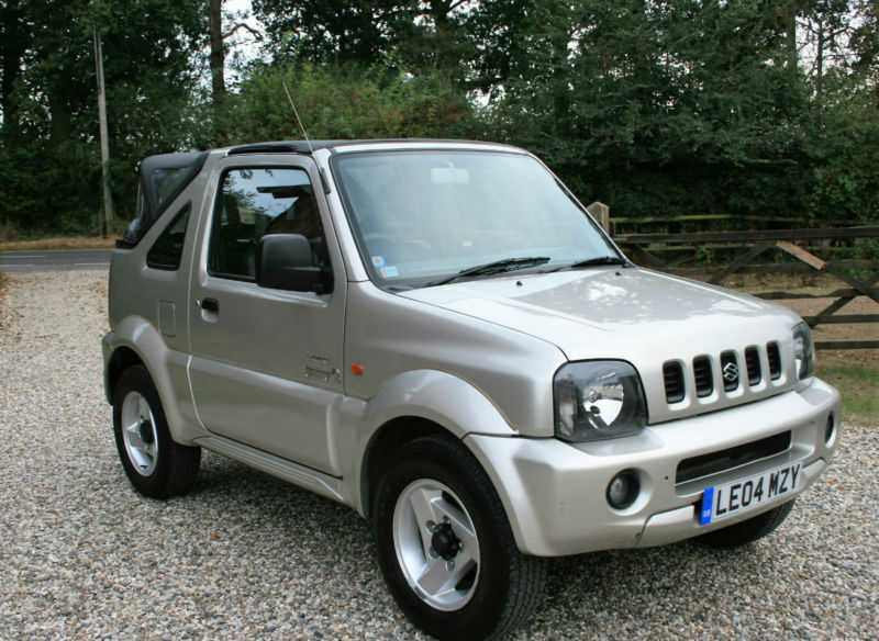 2004 suzuki jimny 1 3 o2 convertible 3dr 4 x 4 estate warrantied low mileage in chelmsford. Black Bedroom Furniture Sets. Home Design Ideas