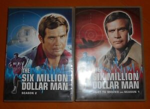 Collection DVD The Six Million Dollar Man et The Bionic Woman