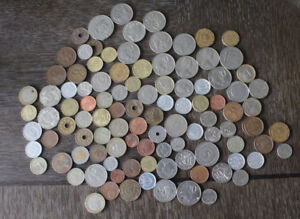 Foreign Coin Collection - many international coins