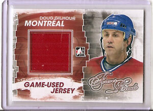 Doug Gilmour 2011-12 ITG Forever Rivals Canadiens Jersey Card