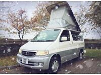 MAZDA BONGO 2.5 V6 NEW SHAPE *4 BERTH CAMPERVAN WITH AFT ROOF*