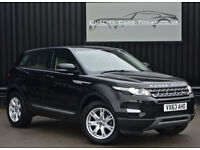 2013 '63' Land Rover Range Rover Evoque 2.2 eD4 Pure Manual Black
