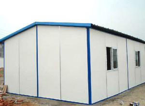 3-Layer Steel Panels for roof and wall (3000sqf)