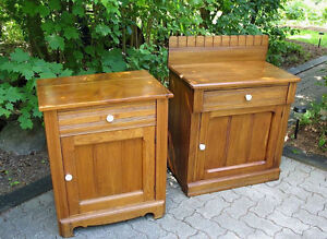 Refinished Antique Washstands and a Pine Jam Cupboard