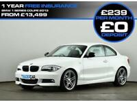 2013 13 BMW 1 SERIES 2.0 118D SPORT PLUS EDITION 2D AUTO 141 BHP DIESEL