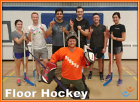 Play Floor Hockey with FCSSC this Fall!
