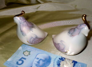 Porcelain GROUSE Canadian made