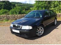SKODA OCTAVIA VRS 180BHP MODEL BLACK WITH FULL TWO TONE LEATHER 2005
