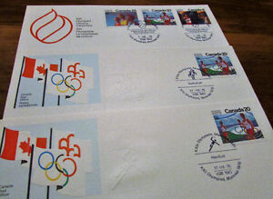 XXI Olympiad Montreal 1976 Souvenir 25 Issue Covers Kitchener / Waterloo Kitchener Area image 5