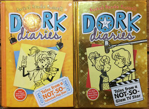 DORK DIARIES Hardcover children's novels 2 for $10