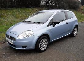 2006 FIAT GRANDE PUNTO 1.2 ACTIVE 8V 3 DOOR, Blue, Manual, Petrol