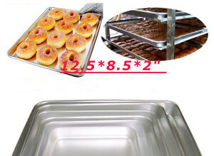 6 PCS Thicken Bake Pan kitchen at home and abroad thickening