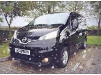 2011 NISSAN NV200 SE DCI 4 SEATER CAMPERVAN, NOT VW, BONGO,