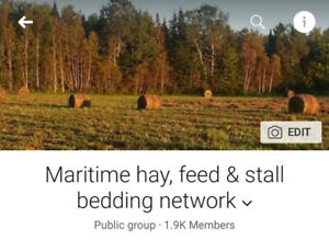 Seeking hay, feed, grain sellers for the Maritime provinces